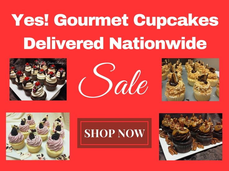 Gourmet Cupcakes Delivered Nationwide. Shop now at www.soulfullyyoursonlinebakery.com