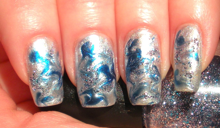Marble Design Manicure Featuring Sephora by OPI's Cinderella Collection