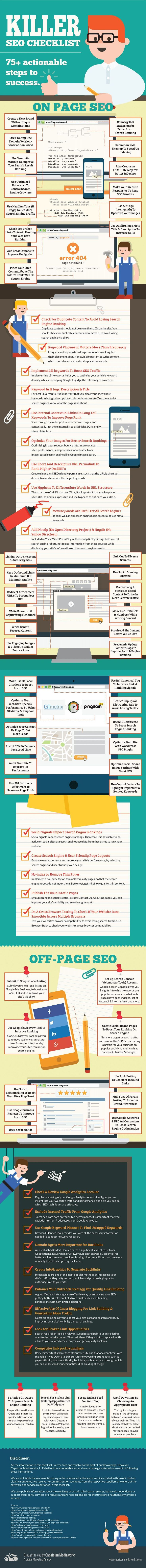 Killer SEO Checklist - #OnPage #SEO #OffPage #Suchmaschinenoptimierung #SEOShopify