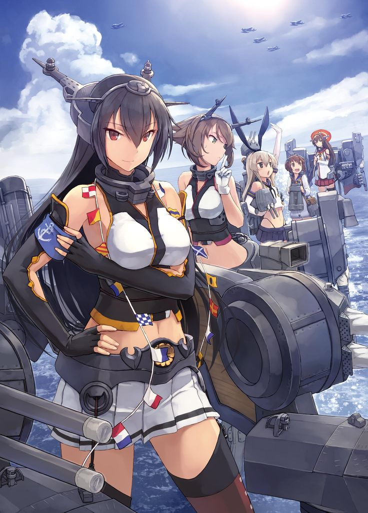 Kantai Collection, by shizuma yoshinori http://www.fanrek.com/kantai-collection-kancolle