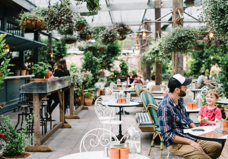 Plant yourself at The Grounds' new casual bar and eatery, right next door.