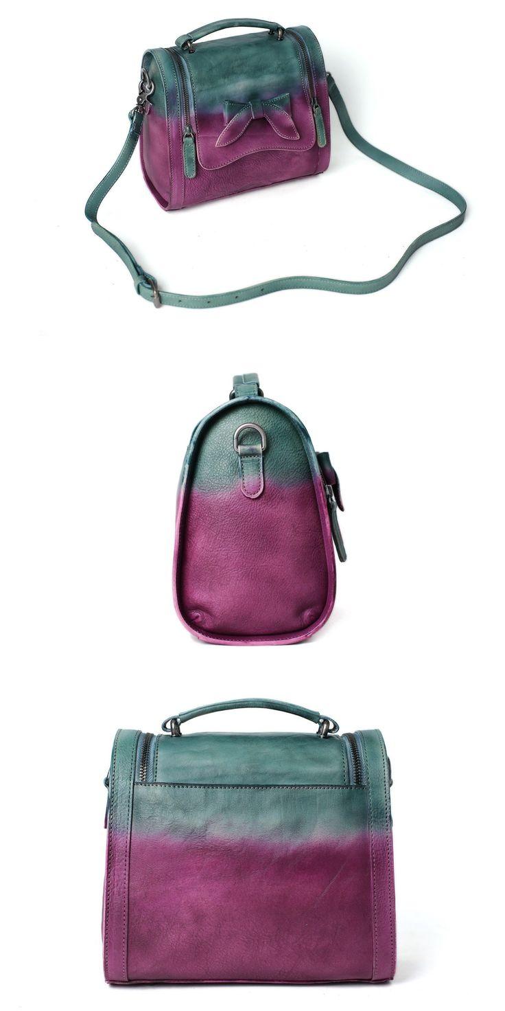 Leather Satchel Bag Doctor Bag Messenger Shoulder Bag Satchel