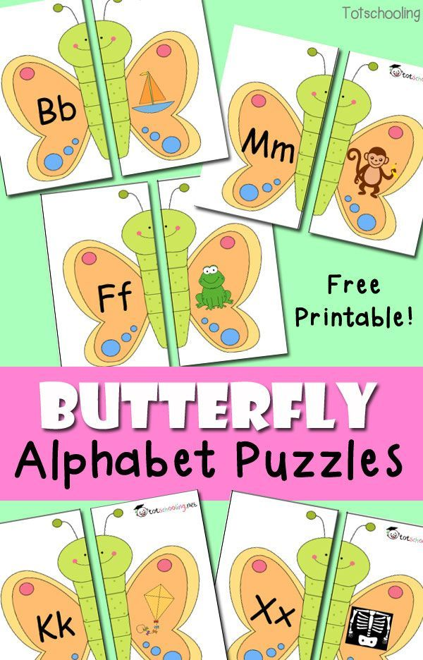 Learning the Alphabet — Preschool Play and Learn