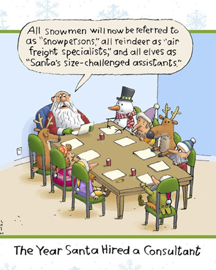 Santa hired a Consultant