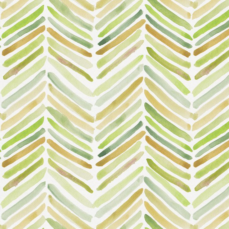 Green Painted Chevron Fabric by the Yard #carouseldesigns