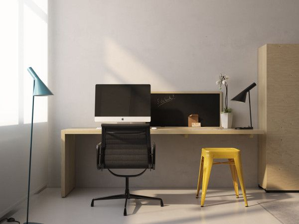 work space in the Transformer Apartment