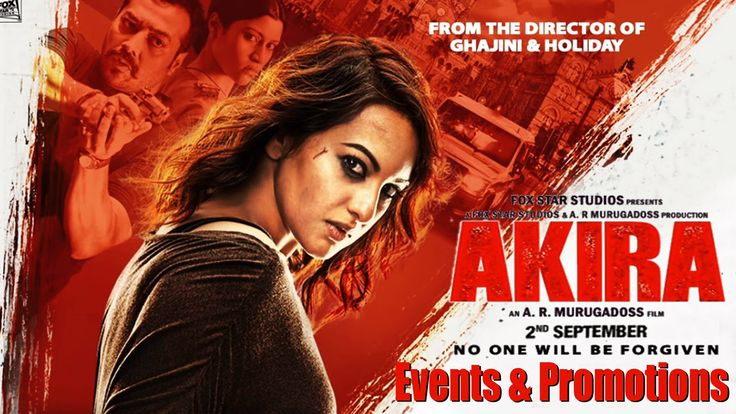 Akira Full Movie 2016 - Sonakshi Sinha, Anurag Kashyap - Events and Prom...