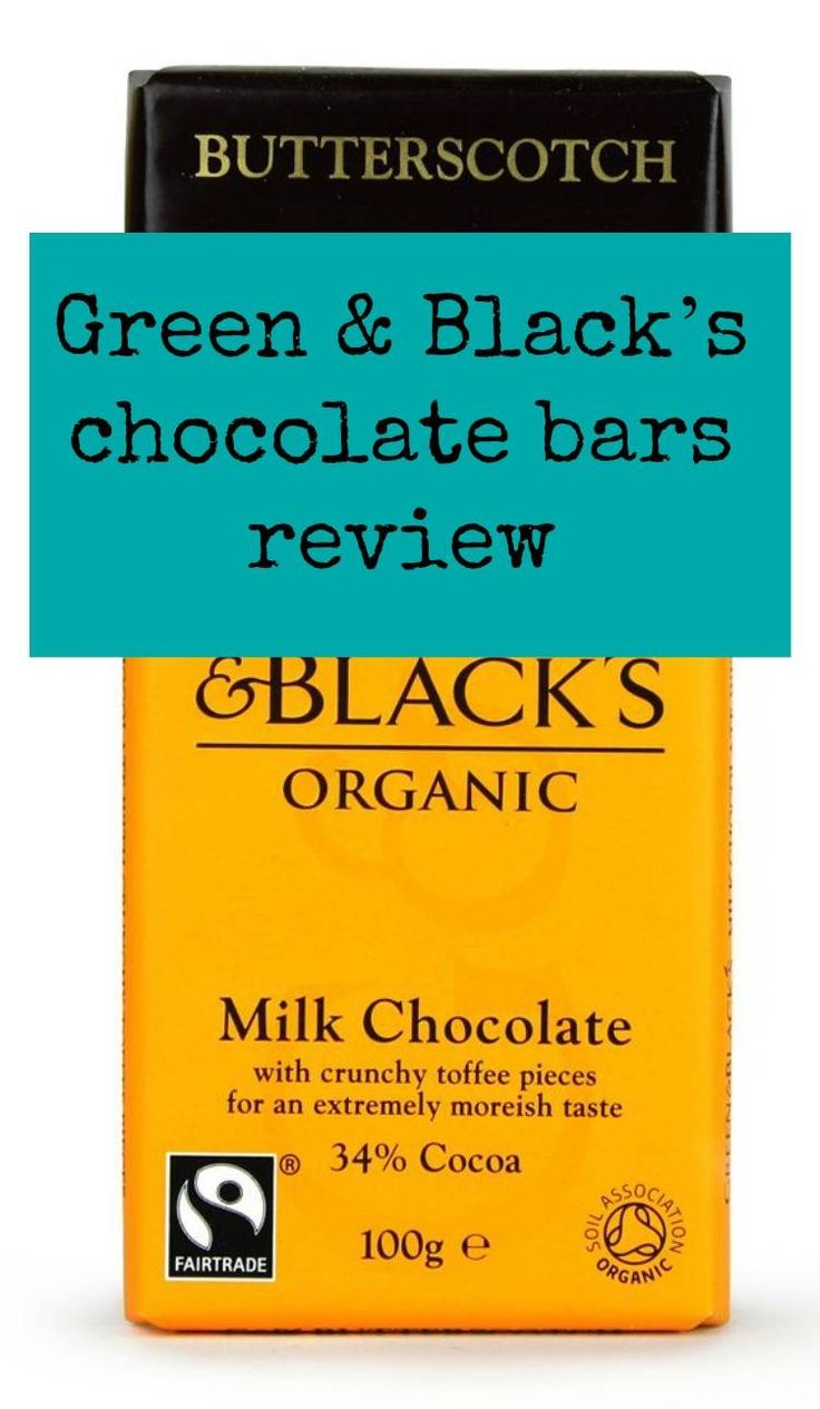 Green & Black's choclate bars review and which is the besr bar of chocolate that they make?
