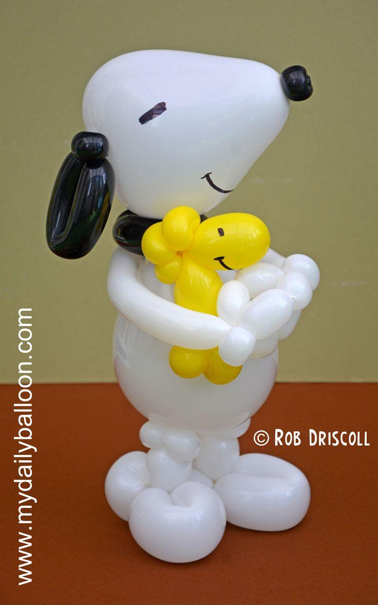 Snoopy & Woodstock Balloon
