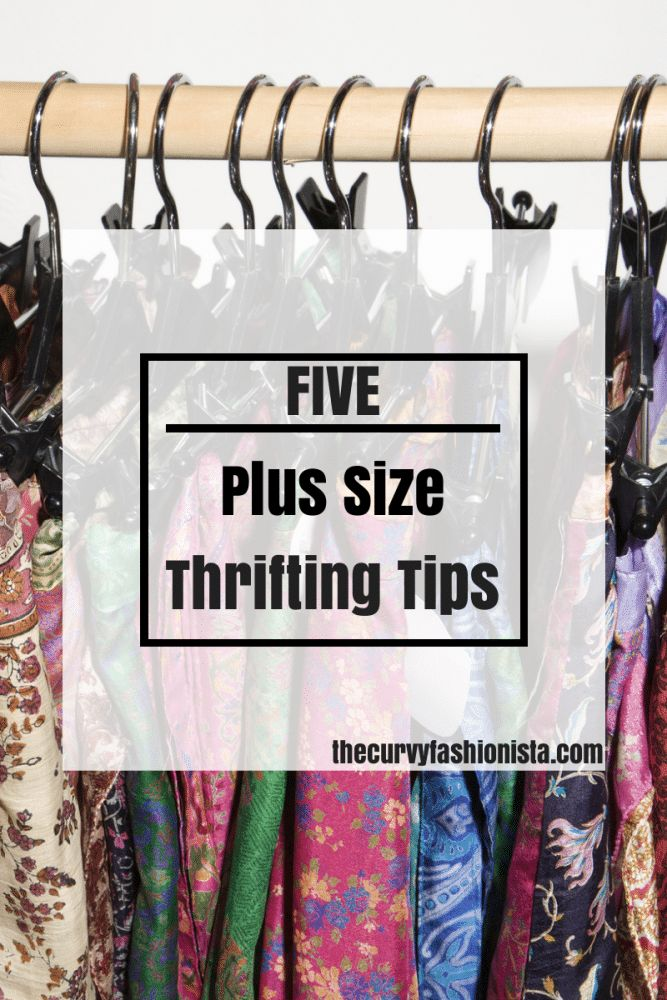 """Hey there lovely people! As promised, I'm back to share my5 Plus Size Thrifting Tips. With springtime quickly approaching, I'm sure you're itching to add some new pieces to you spring wardrobe, right? Well, don't count out the thrift store. Check out these 5 plus size thrifting tips that will make thrifting as a plus size shopper a bit easier!   Check all sections – even those not labeled """"plus"""".Most thrift stores I frequent don't necessarily have a designated """"Plus Size"""" section. I don't…"""