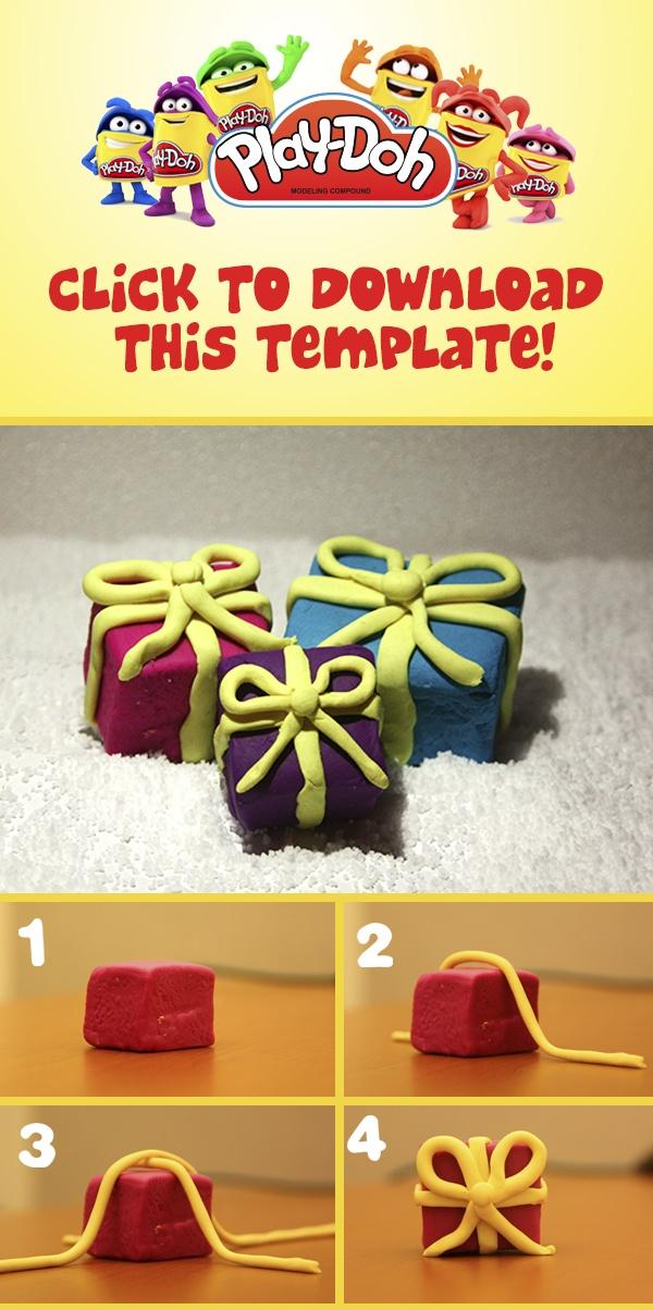 """Play-Doh """"Present"""" Prototype."""