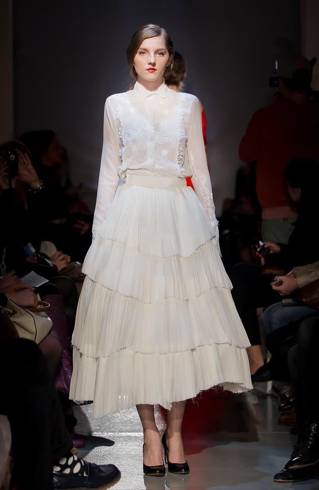 Parlor Fashion Show! #silk #fashion #white #beautiful #glamour #parlor