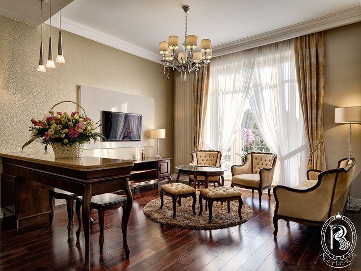 Złoty Apartament. / Gold Suite. #RezydencjaHotel #design #besthotel #pokój #room #apartament #luxurydesign #luxurious #luxury #wystrój #hotels #rezydencja