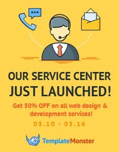 TemplateMonster Service Center: We Get Your Template Customized within 24 h with a 50% Discount http://www.templatemonster.com/service-center/?utm_source=pinterest&utm_medium=tm&utm_campaign=scenter