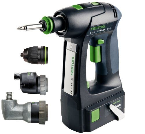Special Offers - Festool C15 4.2Ah Lithium Ion Cordless Drill Set with Optional Chucks - In stock & Free Shipping. You can save more money! Check It (March 28 2016 at 02:43AM) >> http://hammerdrillusa.net/festool-c15-4-2ah-lithium-ion-cordless-drill-set-with-optional-chucks/