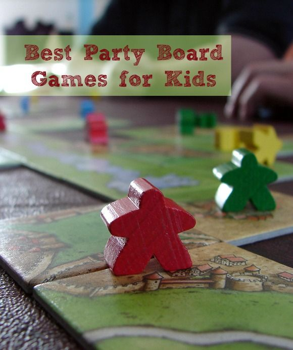 Best Party Board Games For Kids. Check out the best party board games for kids, perfect for those times when your party gets rained out!