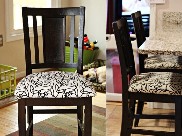 376 best furniture rehab images on pinterest home ideas - How to reupholster a living room chair ...
