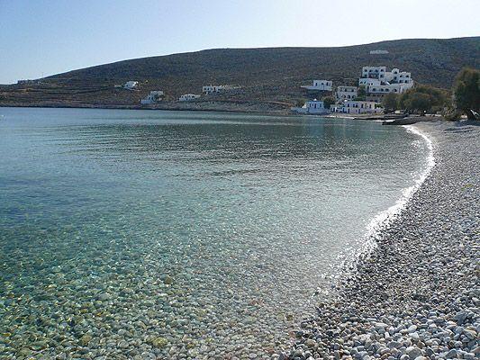 Karavostassis beach in Folegandros