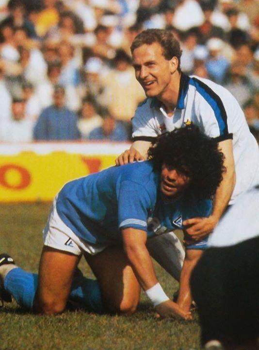 Rummenigge and Diego 1984.
