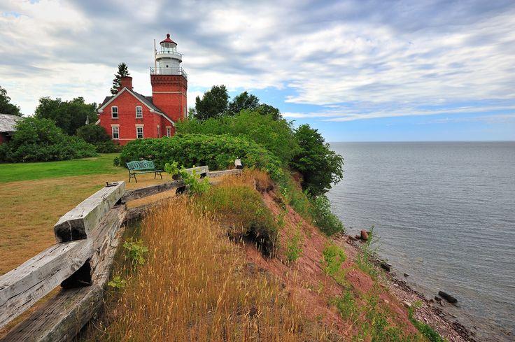 Big Bay Point #Lighthouse - Big Bay, #Michigan | by Michigan Nut - http://dennisharper.lnf.com/