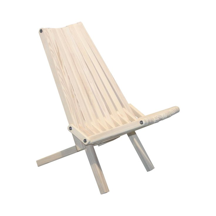 """Hand-crafted from eco-friendly Pine wood and stainless steel, this portable, sturdy chair is built to last and designed for optimum comfort in an outdoor setting. The seat sits close to the ground, mak...  Find the Chesapeake Recliner - 26.5"""", as seen in the Bohemian Outdoor Flair Collection at http://dotandbo.com/collections/bohemian-outdoor-flair?utm_source=pinterest&utm_medium=organic&db_sku=124027"""