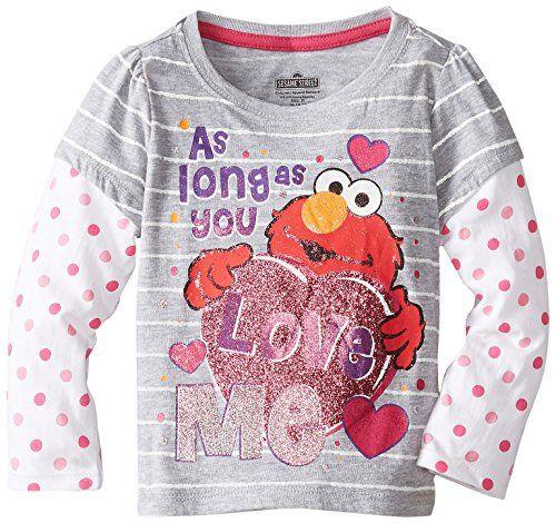 Sesame St Little Girls' Elmo Love Me Long Sleeve Tee, Light Grey Heather, 4T Sesame St http://www.amazon.com/dp/B00HYJJYC0/ref=cm_sw_r_pi_dp_yb.Qub1GESB1B