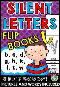phonics activities silent letters flip books phonics printables flip books letter b and book. Black Bedroom Furniture Sets. Home Design Ideas