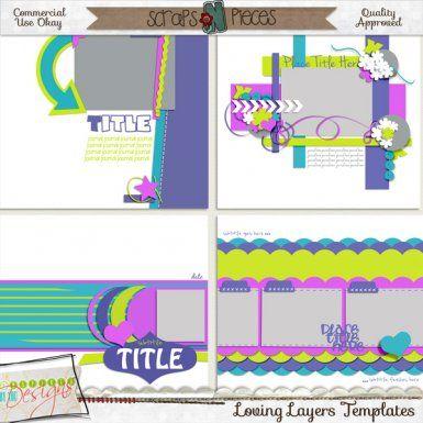 Loving Layers CU Template Pack