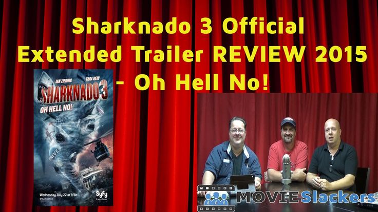 Sharknado 3 Official Extended Trailer REVIEW 2015 - Oh Hell No!