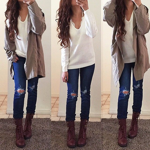 Combat boots outfits ideas