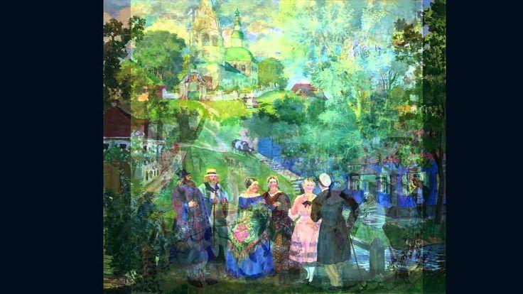 Русское купечество в картинах  Б.М.Кустодиева