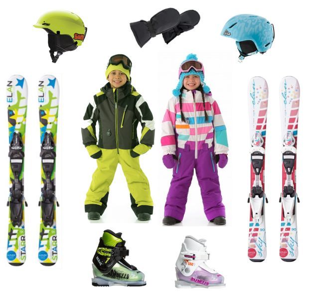 Some cute kids ski gear for the 2014 - 2015 snow season. ow.ly/BWN3M