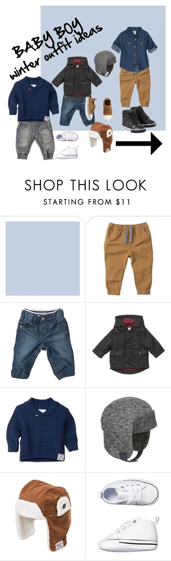 """""""BABY BOY winter outfit ideas"""" by mrsandmummy on Polyvore featuring men's fashion and menswear"""