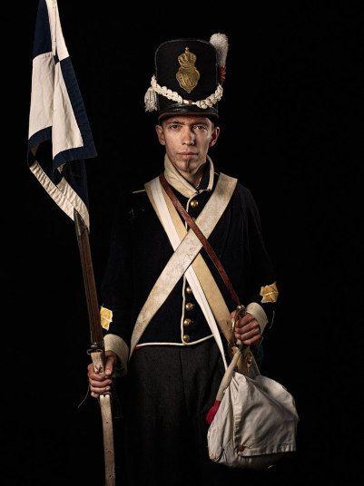 Regno di Olanda - Corporal Netherlands 7th Regiment of the line, 1815 Waterloo