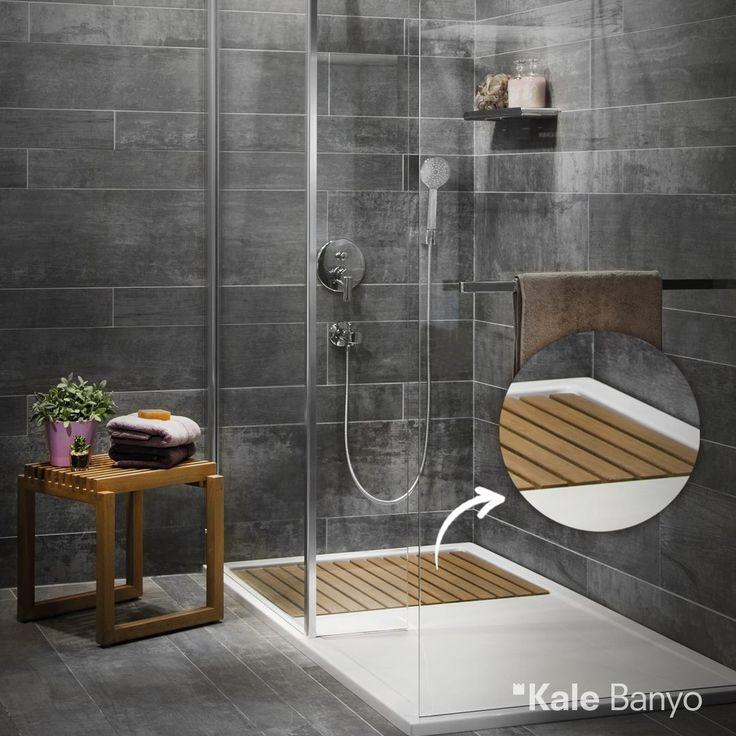 Floor Serisi duş teknesinin zemininde bulunan bambu detayı ile banyonuzda doğallığa yer açın…  #Kale #banyo #tasarım #bathroom #duşkabin #duşteknesi #duştenkesimodelleri #duşakabin #duşakabinmodelleri #showercabin #showercabinideas #bathroomidea #dekorasyon #dekorasyonönerileri #decorationidea