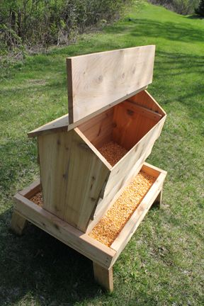 homemade hog feeder plans - Google Search