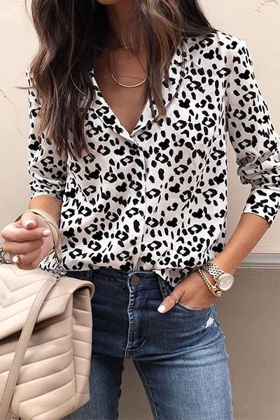 211f1176be82 Stay on trend this season in our new funky, black and white animal print  shirt. It's great with jeans, or with a suit for the office.