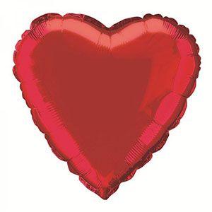 Doğum günü partisi, parti balonları, folyo balon, parlak parti balonları, kalp balon, kırmızı kalp balon