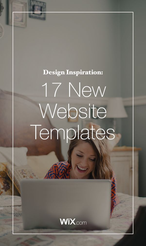 17 new website templates for business owners, creatives, portfolios and more with all the web design trends that will make your new website stand out.