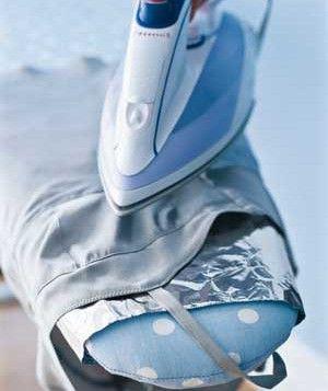 Aluminium Foil as Wrinkle Remover