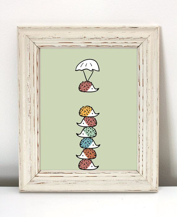 Hey, I found this really awesome Etsy listing at https://www.etsy.com/listing/238061104/colorful-hedgehog-nursery-art-printable