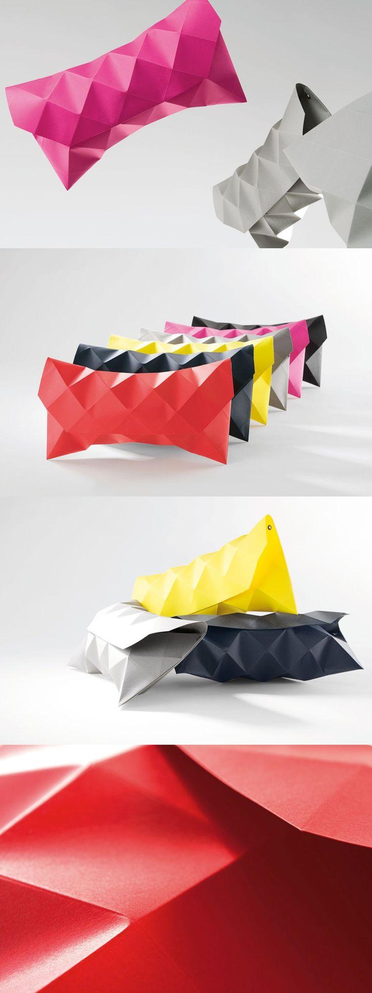 Pochette di carta, accessori moda divertenti e unici! Petit Fou paper clutches: A unique bag for a unique moment!
