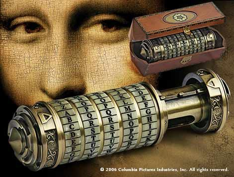 The Da Vinci Code #TheCryptex