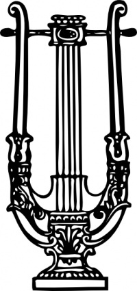 See, this is a Lyre.  NOT a harp.  The two are not interchangeable.  When the Bible mentions a harp, it MEANS harp!