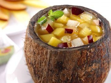 Punč z jižního ovoce / Punch of tropical fruit