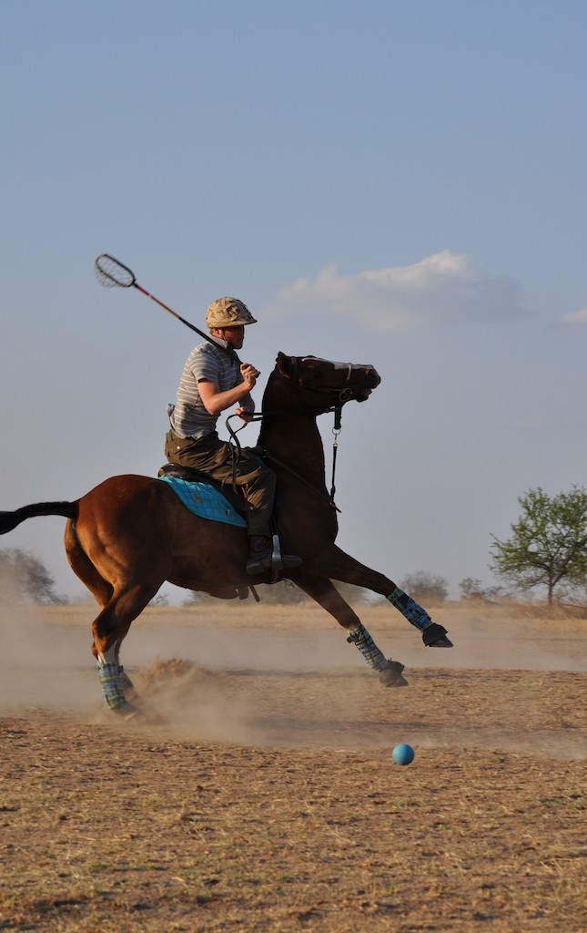Learn to play polocrosse!