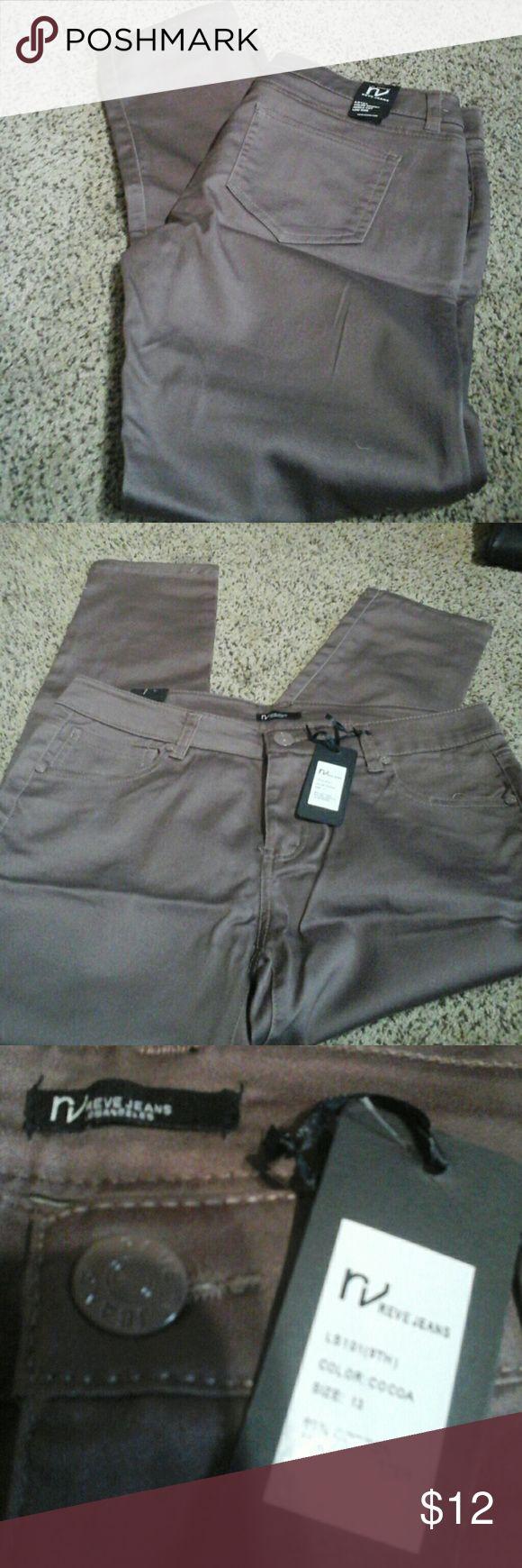 Bogo Sale going on New Reve Jeans sz 13 Mauve purple straight leg jeans , low rise LOS ANGELES REVE JEANS Pants Straight Leg