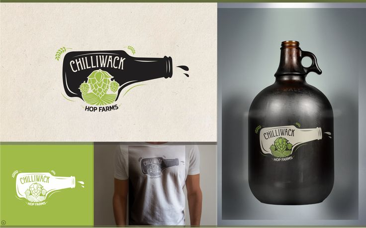 Design #16 by Kontura™   Create a modern logo for a farm that grows Hops for beer.