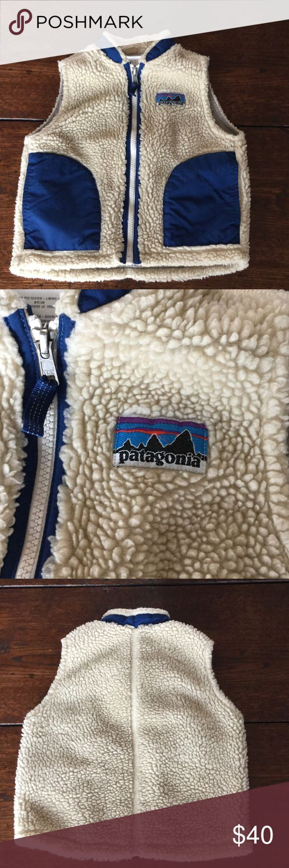 Patagonia Fleece Vest Wind proof Patagonia Fleece vest. Great condition! Keep your little one warm and stylish! Patagonia Jackets & Coats Vests