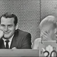 Paul Newman and Joanne Woodward laughing gif